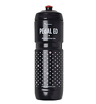 Pedal Ed Mizu 0,8 L - Trinkflasche, Black