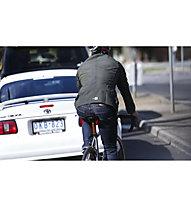 Pedal Ed Saddle Packable Radjacke, Petrol