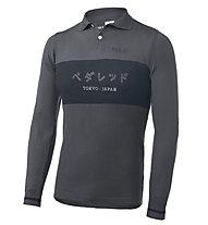 Pedal Ed Tokyo Riding - polo bici - uomo, Grey