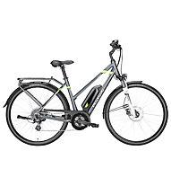 Pegasus Solero E8 - eCitybike - Damen, Grey/Green