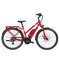 Pegasus Solero E8 Trap (2020) - bici da trekking elettrica - donna, Red