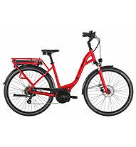 Pegasus Solero E8 Plus - eCitybike - unisex, Red