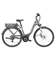 Pegasus Solero E8 (2018) - city bike elettrica - donna, Grey/Green