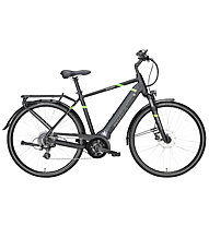 Pegasus Solero Evo 8 (2018) - city bike elettrica, Black/Green