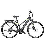 Pegasus Solero Evo 8 - eCitybike - Damen, Black/Green