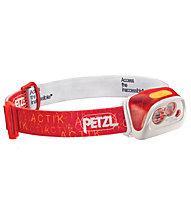 Petzl Actik Core - lampada frontale, Red