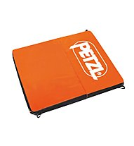 Petzl Alto Crashpad zum Bouldern, Orange/Black