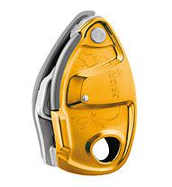 Petzl GriGri+ Abseilgerät/Sicherungsgerät, Orange