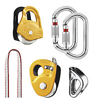 Petzl Kit Secours Crevasse - kit di soccorso, Orange/Metal