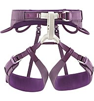 Petzl Luna - imbrago arrampicata - donna, Purple