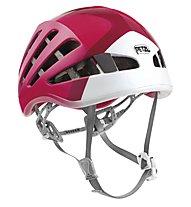Petzl Meteor - casco arrampicata, Raspberry