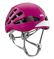Petzl Meteor - casco da arrampicata, Pink