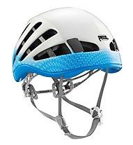 Petzl Meteor - casco da arrampicata, Blue/White