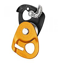 Petzl Micro Traxion - Seilrolle, Dark Orange