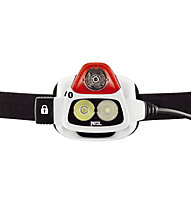 Petzl Nao+ Stirnlampe, White/Red