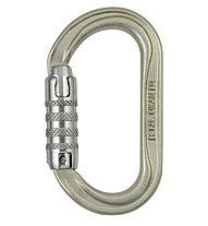 Petzl Oxan Triact-Lock - Karabiner, Steel