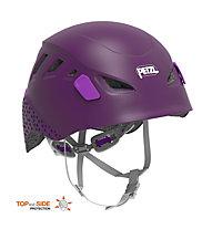 Petzl Picchu - casco da arrampicata - bambino, Violet