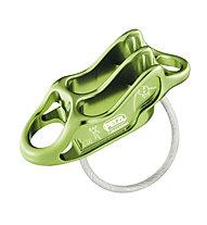 Petzl Reverso 4 - assicuratore - discensore - secchiello, Green