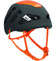 Petzl Sirocco - Kletterhelm, Black/Orange