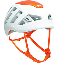 Petzl Sirocco - casco arrampicata, White/Orange