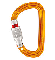 Petzl Sm'D Screw Lock - moschettone, Yellow