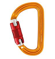Petzl Sm'D Twist-Lock - moschettone, Yellow/Red