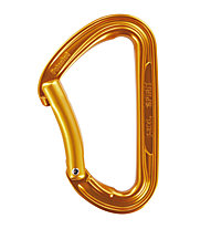 Petzl Spirit Bent Gate - Karabiner, Orange