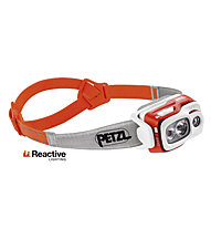 Petzl Swift RL 900 Lumen - lampada frontale, Orange