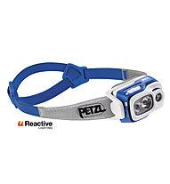 Petzl Swift RL 900 Lumen - lampada frontale, Blue