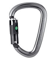 Petzl William Ball-Lock - Karabiner, Light Grey/Black