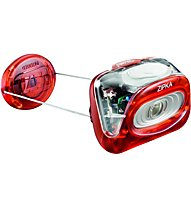 Petzl Zipka - Stirnlampe, Red