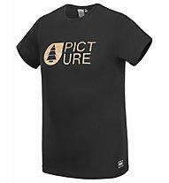 Picture Basement Cork - T-Shirt - Herren, Black