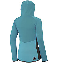Picture Izimo Zip - felpa in pile con cappuccio - donna, Blue