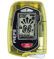 Pieps Micro BT Button - dispositivo A.R.T.VA., Transparent Yellow