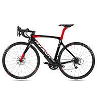 Pinarello Nytro (2018) - bici da corsa elettrica, Black/Red