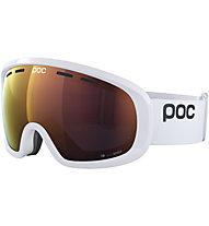 Poc Fovea Mid Clarity - maschera sci, White