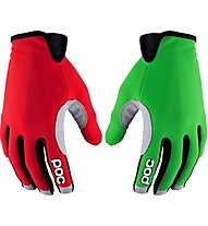 Poc Index Air - Fahrradhandschuhe, Green/Red