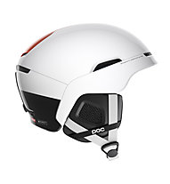 Poc Obex Backcountry Spin - casco scialpinismo, White/Orange