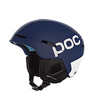 Poc Obex Backcountry Spin - casco scialpinismo, Blue/White