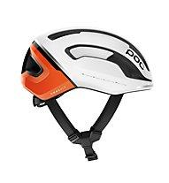 Poc Omne Air Spin - casco bici, White/Orange