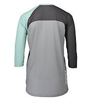 Poc Pure 3/4 - maglia MTB - donna, Green/Grey