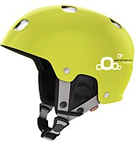 Poc Receptor Bug Adjustable 2.0 - casco sci, Yellow