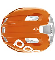 Poc Ventral Air Spin - Radhelm - Herren, Orange/White