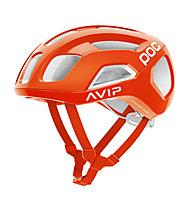 Poc Ventral Air Spin - casco bici, Orange/White
