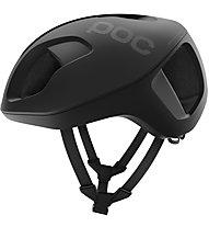 Poc Ventral Spin - casco bici da corsa - uomo, Black/Black