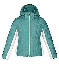 Poivre Blanc Jacket BB Girl 1004 Kinder Skijacke mit Kapuze, Blue Lagune/White