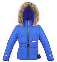 Poivre Blanc Ski Fake Fur - Skijacke - Mädchen, Light Blue