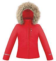 Poivre Blanc Stretch - Skijacke - Mädchen, Red