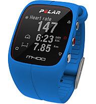 Polar M400 HR - orologio GPS - Orologi multifunzione, Blue