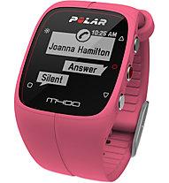 Polar M400 HR - orologio GPS - Orologi multifunzione, Pink